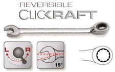 CLICKRAFT CHIAVE REVERSIBILE 13MM