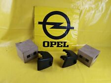 NEU + ORIGINAL Opel Kadett D GTE Set Stoßstangenhorn vorne links + rechts