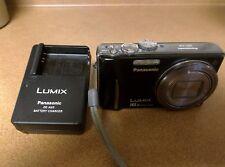 Panasonic LUMIX DMC-ZS8 14.1MP Digital Camera - Black and charger