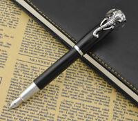 Fuliwen Elephant Rollerball Pen, Black Fine Refill Signature Calligraphy Pens