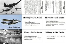 Avalon Hill's Midway ('64) Event, Search and Strike Cards