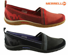 Merrell Leather Slip On Athletic Shoes for Women