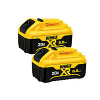 DEWALT DCB206-2 20-Volt MAX 6.0 Ah Lithium Ion Premium Battery (2-Pack)