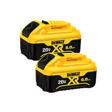 DEWALT DCB206-2 20-Volt MAX 6.0 Ah Lithium Ion Premium Battery (2-Pack)
