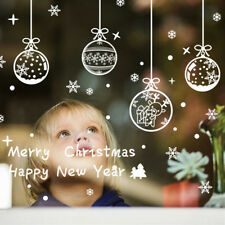 Merry Christmas Wall Art Removable Home Window Wall Stickers Decal Decor Pip