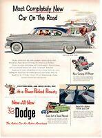 1953 ORIGINAL VINTAGE DODGE CAR MAGAZINE AD