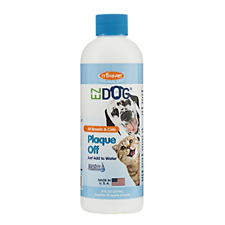 Fresh Dog Breath Plaque Off Drinking Water Additive Oral Dental Teeth Care Dogs