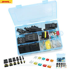 Auto-KFZ-Stecker-Steckverbinder-Wasserdicht-Kabel-1-2-3-4-5-6-Polig-W-Sicherung