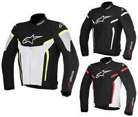 Alpinestars T-Gp R Hombre Chaqueta de Moto Corto Sport Touring Verano