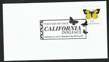 US 5346 California Dogface Butterfly BWP FDC 2019