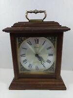 Linden Quartz Triple Chime Mantle Clock Vintage