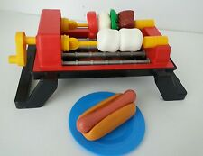 Vintage Fisher Price Fun with Play Food 4 Little Tikes Sizzling Barbeque