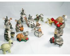 Charming Tails 13 Piece Nativity Set Mouse Figurines by Silvestri Dean Griff