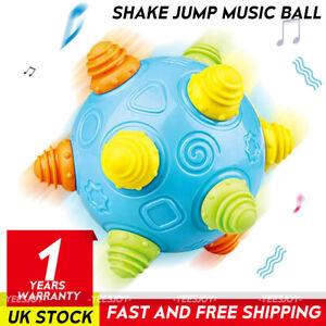 Baby Music Shake Dancing Ball Toy Free Bouncing Sensory Developmental Ball Toy