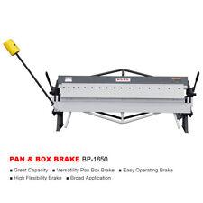 KAKA Industrial BP-1650 50-Inch Sheet Metal Pan and Box Brake, 16 GA Mild Steel