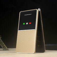 "F699 Ultra-thin Dual-Screen Flip Phone 2.8"" Display Dual SIM Card Cellphone"