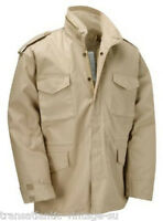 M65 Guerrera Chaqueta con Forro Acolchado Vintage Militar Abrigo Hombre Combate