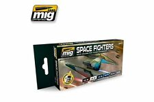 AMMO OF MIG A.MIG-7131 Acrylic Paint Set (6 Jars) Star Fighters Sci-Fi Colors