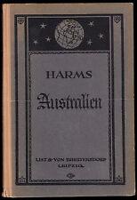 Harms, H.; Australien, Ozeanien und Antarktis, 1927