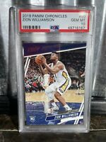 2019 Panini Chronicles PRESTIGE Zion Williamson ROOKIE #60 PSA 10 Gem Mint