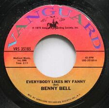 Pop 45 Benny Bell - Everybody Likes My Fanny / Wading In The Water On Vanguard