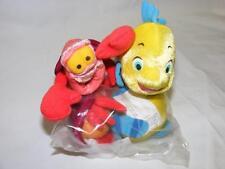Disney Shopping Little Mermaid Flounder Sebastian Mini Dolls Costume Accessory