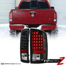 [NEW BLACK]  2002-2006 Dodge Ram 1500 LED Rear Tail Light Tail Lamp LH+RH BRAKE
