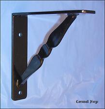 "Wrought Iron Bracket - Corbels Granite - Marble - Shelf - Mantel - 9""x9""x2""x1/4"""
