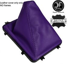 PURPLE REAL LEATHER MANUAL GEAR BOOT 5 & 6 SPEED FITS HOLDEN VY VZ COMMODORE