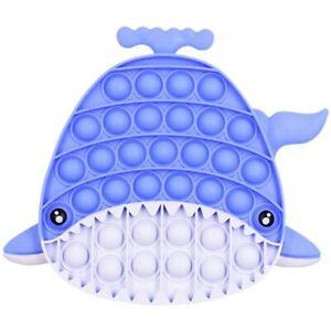 Push Pop Sensory Fidget Toy Bubble IT Stress Relief Kids NEW Shark Family Games