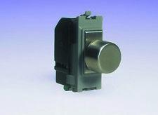Varilight 2-Way Push-ON Push-OFF Dimmer Interruttore della luce 1 x 10-120 W (1) SPAZIO Griglia