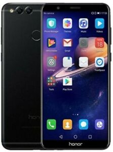 Huawei Honor 7x - Black (Unlocked) *Cracked Back Camera Lens* *Phone Only*