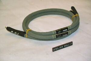 Atelier Rullit  - Interconnect cables VK III DR Stereo 1 m