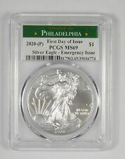 MS69 2020-(P) American Silver Eagle - Emergency Issue - FDI - Graded PCGS *718