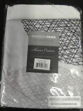 "Madison Park MPE70-038 Essentials Glendale Shower Curtain 72x72"" Grey,"