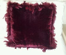 *BHS* feathered edged luxurious cushion, brand new
