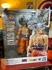 BANDAI Dragon Ball Super Goku Ultra Instinct S.H. SH Figuarts Action Figure