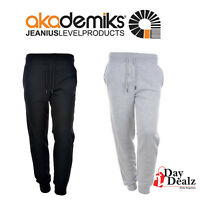 NEW AKADEMIKS MEN'S PRIMO SOLID FLEECE JOGGER PANTS SWEATS ATHLETIC A36SP04