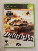 Battlefield 2 Modern Combat Microsoft Xbox Video Game Complete VG FREE S/H
