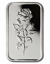 UAE .999 Fine Silver Art Bar 5 gram 'Rose of Dubai' - UNCIRCULATED - SCARCE