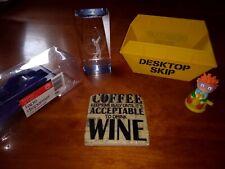 Desktop Paperweight, Coaster, Sellotape dispenser, De-stresser and Skip