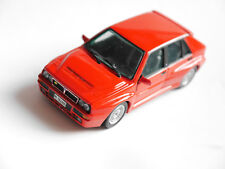 Lancia Delta HF in rot rouge rosso roja red, IXO in 1:43!