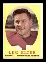 1958 Topps #25 Leo Elter  EX/EX+ X1463556