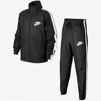 Boys Nike Woven Tracksuit Grey White Extra Small XS AR5103 060 Age 6 7 8 years