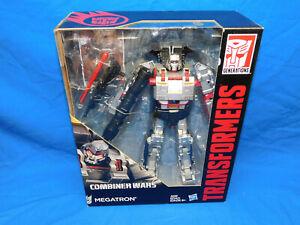 MEGATRON Transformers Generations Leader Class Combiner Wars Decepticon Figure