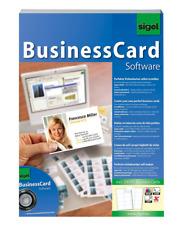 Sigel SW670 carte de visite logiciel inclus 200 cartes