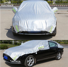 1pc Hatchback Universal Car Cover Fitted Water Proof Outdoor Rain Snow Sun Dust