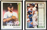 Kevin Romine Signed 1989 Upper Deck #524 Card Boston Red Sox Auto Autograph