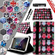 """For Various 7"""" ARCHOS 70 Tablet - Smart Stand Leather Cover Case + Stylus"""