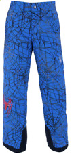 SPYDER MARVEL HERO SKI PANT SPIDERMAN NWT $179 Youth Size 18 Blue Snowboard Snow
